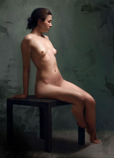 Miliza, oil on canvas, 2009