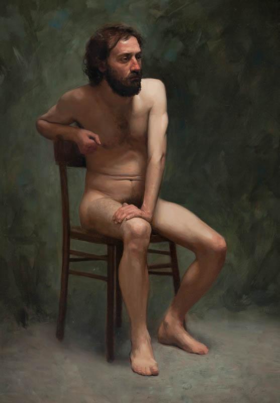 Johnny, oil on canvas, 2009