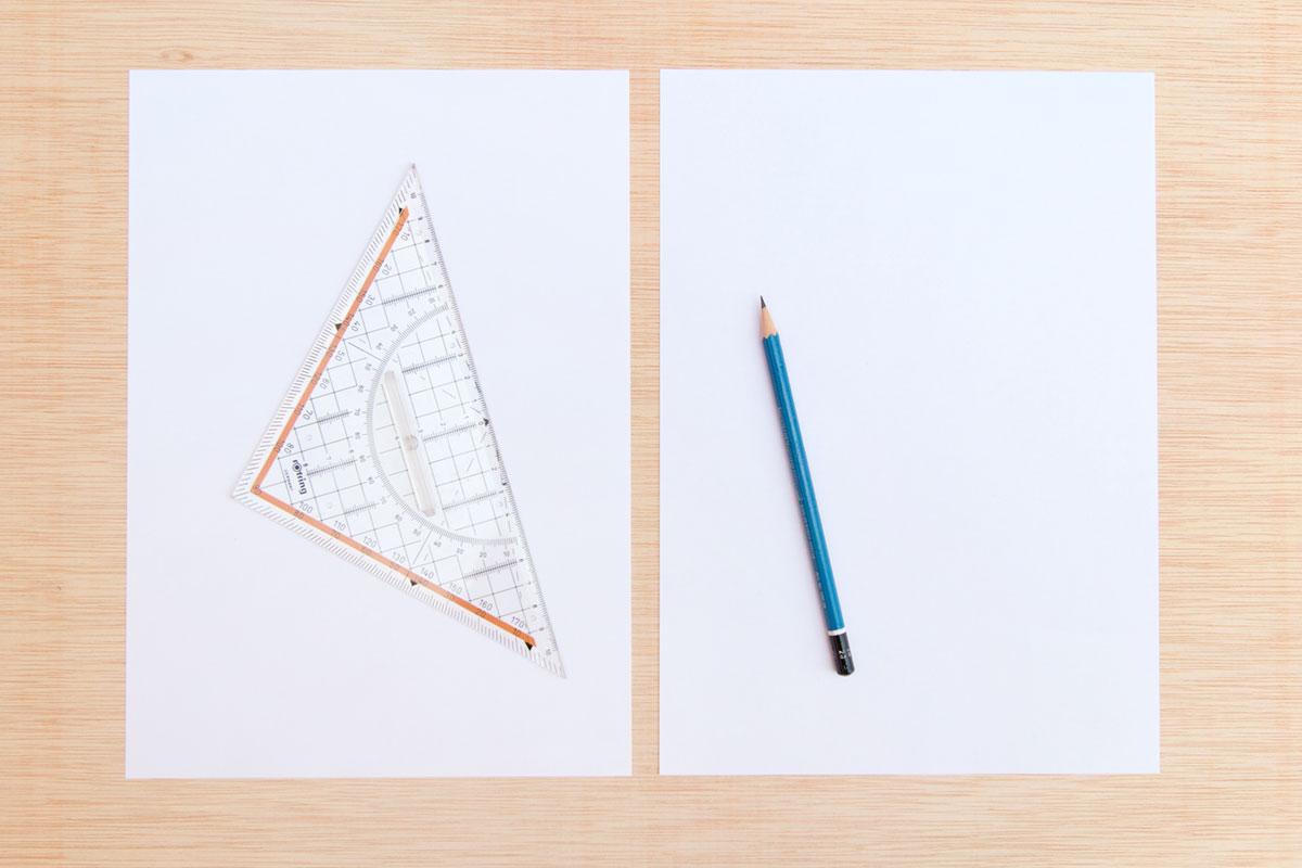 memory drawing - materials