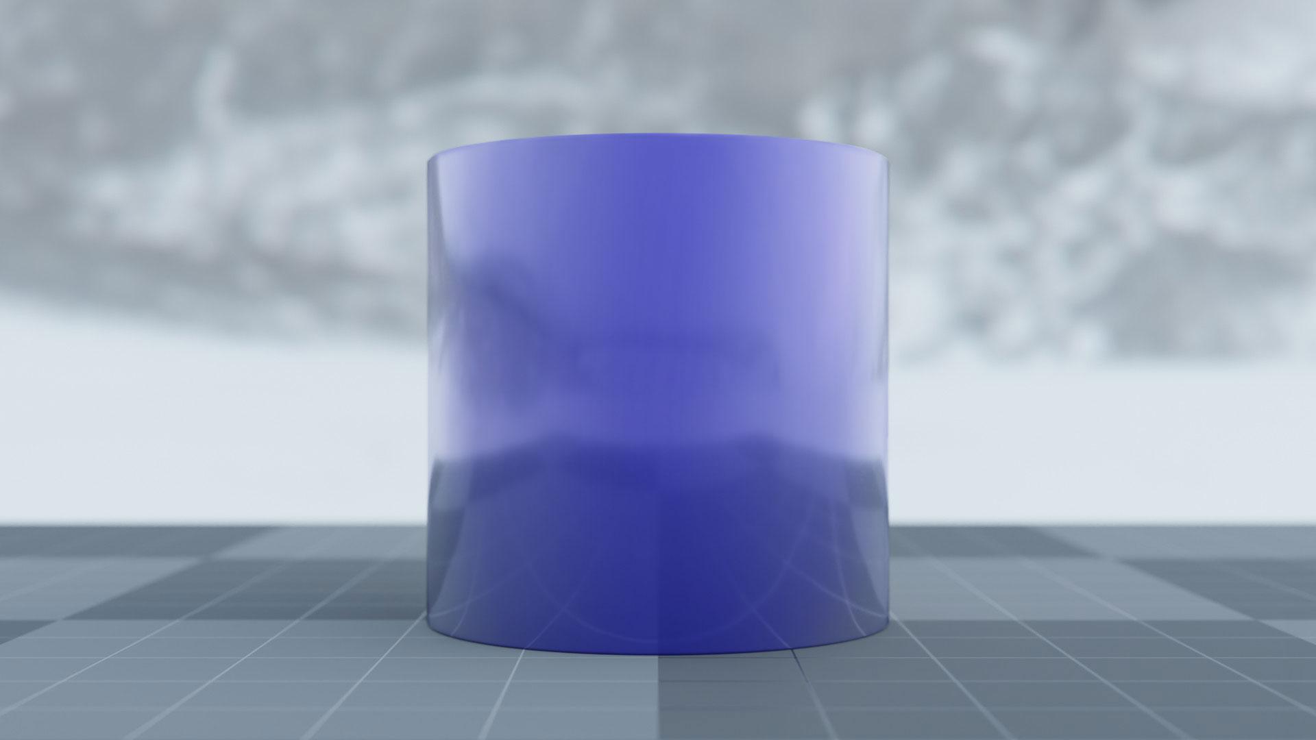 Fresnel cylinder full