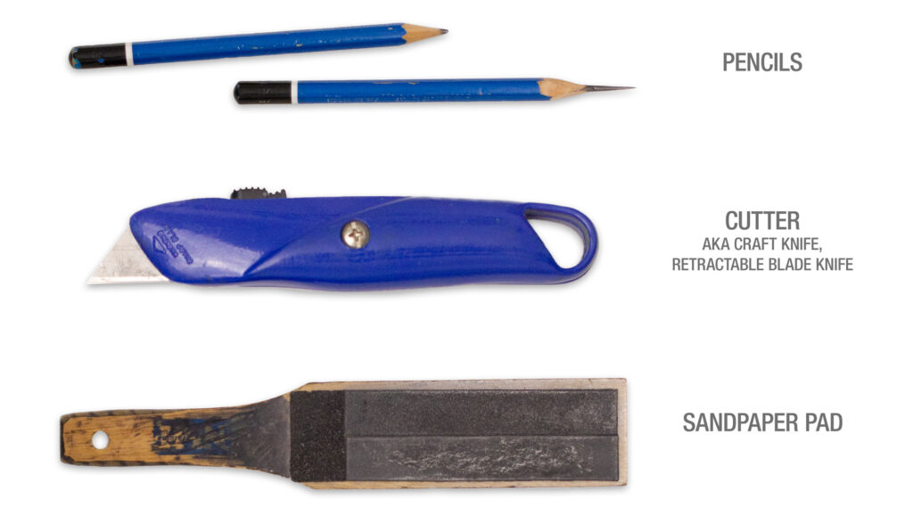 Pencil sharpening tools